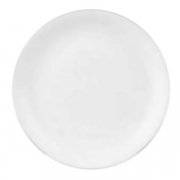 Тарелка мелкая «Тейст вайт»; фарфор; D=23см; белый
