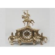Часы «Всадник» золотистый 28х34 см.