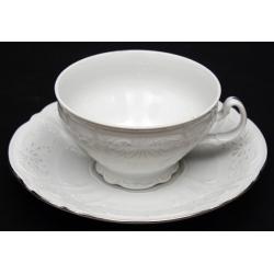Набор для чая 205 мл. н/н «Бернадот Платина 2021» на 6 перс. 12 пред.