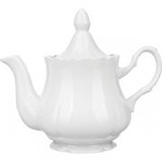 Чайник «Романc» фарфор; 800мл; белый