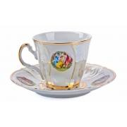 Набор для чая на 6 перс. 12 пред. высокие без н «Бернадот Мадонна»