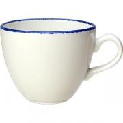 Чашка чайная «Блю дэппл» фарфор; 170мл; белый, синий
