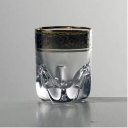 Набор стаканов «Барлайн - Трио» 060 мл; водка, ликер; панто платина