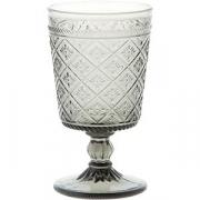 Бокал для вина «Глория» стекло; 270мл; серый