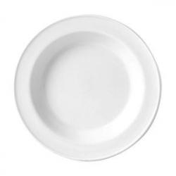 Тарелка глуб «Симплисити вайт» 23см