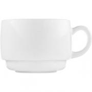 Чашка чайная «Зеникс» D=7.7, H=5.8см; белый