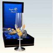 Бокал для шампанского 23 см 2 шт Виноград