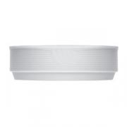 Салатник «Карат», фарфор, 620мл, D=175,H=50мм, белый