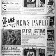 Бумага для подачи «Газета» [1000шт]
