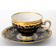 Набор для кофе на 6 перс.12пред./подарочн «Ювел синий»