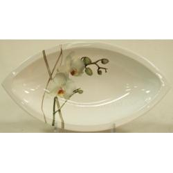 Овальное блюдо 32см «Орхидея»