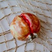 Декоративный фрукт «Граната» 7x7 см.