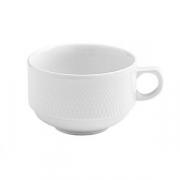 Чашка чайная «Портофино», фарфор, 365мл, белый