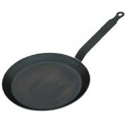 Сковорода для блинов d=18см голубая сталь