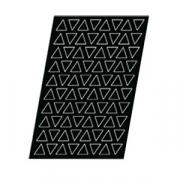 Форма конд. «Треугольник» [80шт], H=10,L=48,B=41мм
