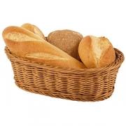 Корзина для хлеба овал., полипроп., H=85,L=285,B=170мм