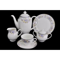 Чайный сервиз «Нежность» 40 предметов на 12 персон
