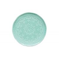 Тарелка закусочная (мятный) Abitare без индивидуальной упаковки