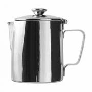 Кофейник, сталь нерж., 1.5л, H=18.4,L=16.2,B=11.7см, металлич.