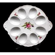 Поднос для яиц 25 см. «Полевой цветок 5309011»