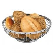 Корзина для хлеба, сталь нерж., D=20,H=8см