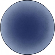 Тарелка мелкая «Экинокс» D=24, H=3см; синий