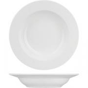 Тарелка глубокая «Кунстверк» D=23.5см; белый