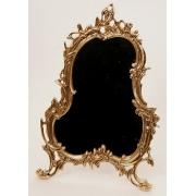 Зеркало-груша золотистый 37х25 см.