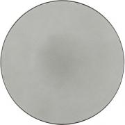 Тарелка мелкая «Экинокс» D=31, H=3.5см; серый