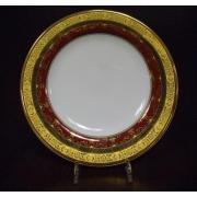 Набор 6 тарелок подстановочных 27см «Маркус красный»