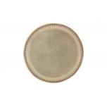 Тарелка закусочная Comet (песочный) в индивидуальной упаковке.