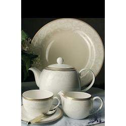 Сервиз чайный на 6 персон, 17 предметов. «Золотая вышивка»