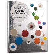 Книга (на франц.) «Petit precis cuisine molecul.»