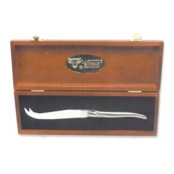 Нож для сыра/Рукоятка - блестящая нержавеющая сталь/Ручная работа