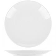 Тарелка мелкая «Универсал» D=24см; белый