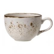 Чашка кофейная «Крафт», фарфор, 85мл, D=65,H=53,L=83мм, белый
