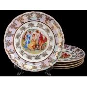 Набор тарелок «Мадонна» 24 см 6 шт.