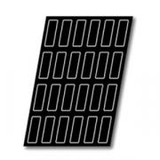 Форма конд. «Прямоуг.» [12шт], H=25,L=120,B=40мм