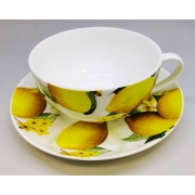 Чайная пара «Лимон» 350мл