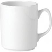 Кружка «Симплисити Вайт» фарфор; 340мл; белый