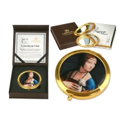 Зеркало карманное Дама с горностаем (Л. Да Винчи)