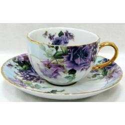 Чашка с блюдцем «Элиза», 0.2 л
