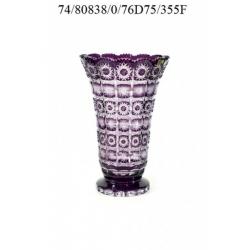 Ваза фиолетовая 355