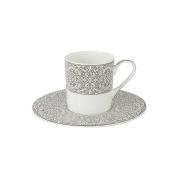 Кофейный набор Серебряный дворец: 6 чашек + 6 блюдец