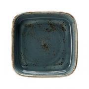 Форма для запек. «Крафт», фарфор, 1.85л, L=25.5,B=25.5см, синий