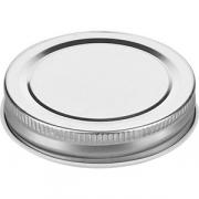 Крышка для пивной кружки арт.1100666,67,69,70 «Банка» металл