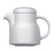 Кофейник «Карат», фарфор, 275мл, D=90/55,H=90,L=165мм, белый