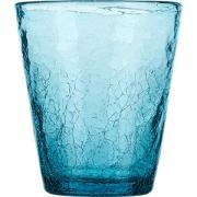 Стакан «Колорс» стекло; 310мл; голуб.
