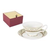 Чашка с блюдцем Романтика
