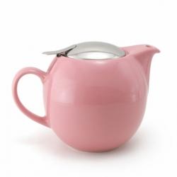 Чайник с ситечком 680мл цвет: Розовый